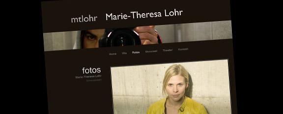 Marie-Theresa Lohr Fotoseite