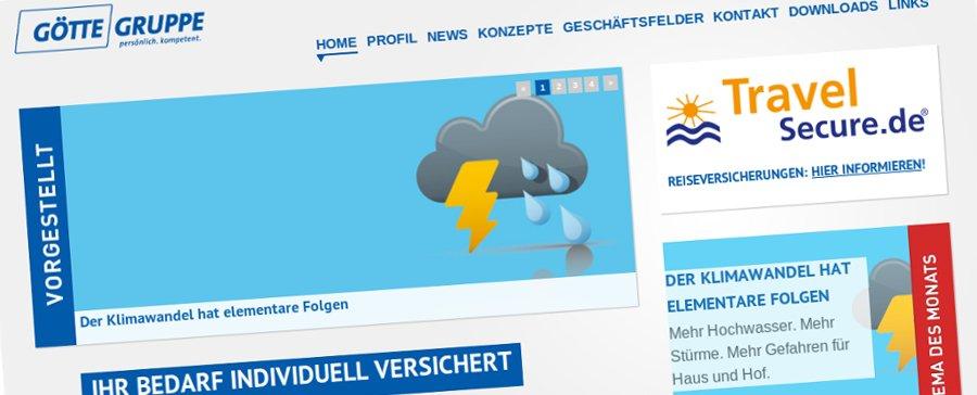 Relaunch der Götte Gruppe Webseite