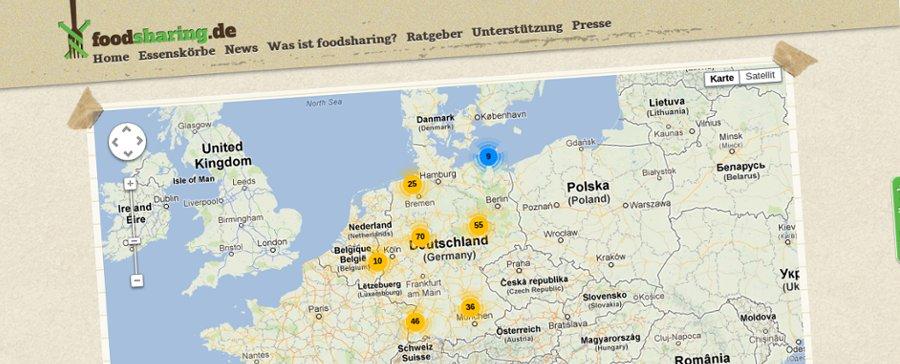 foodsharing.de geht online
